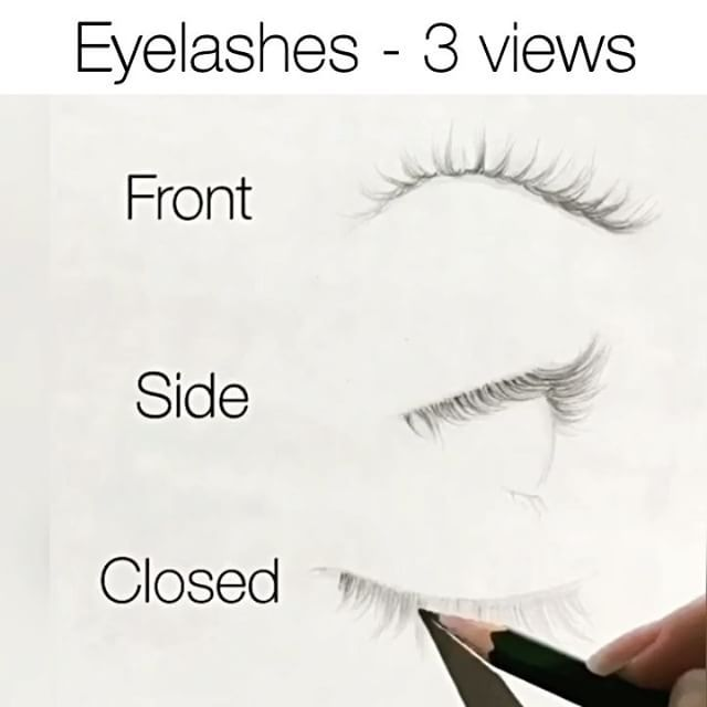 How to Make Eyelashes Draw