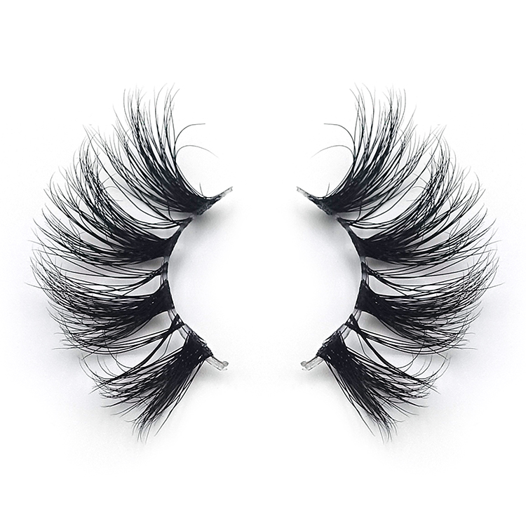 3d mink eyelashes clear band