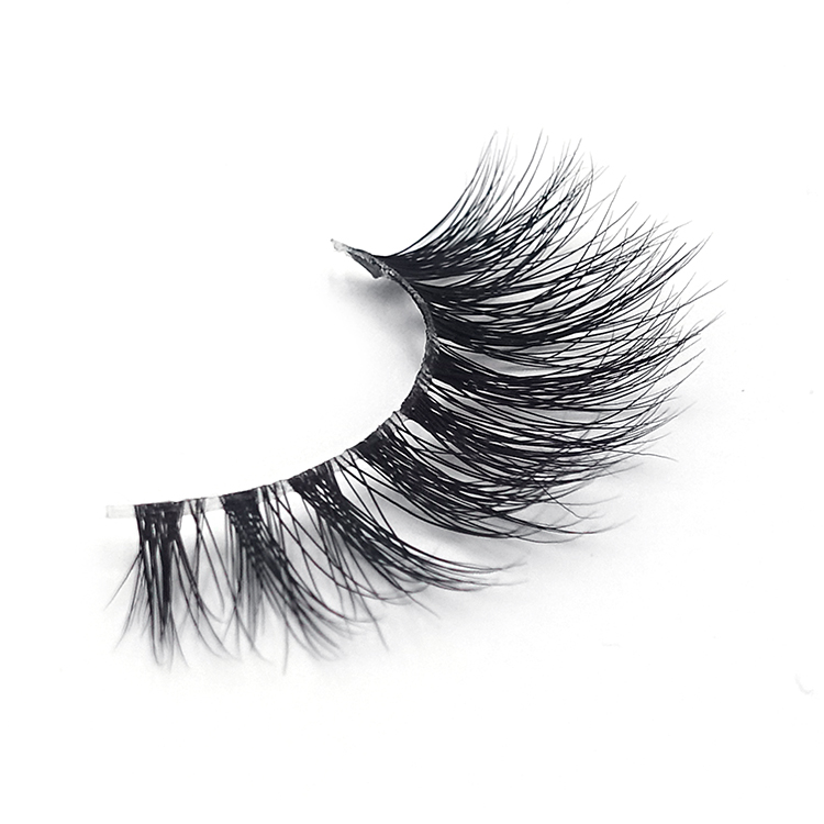 mink lash with clear band