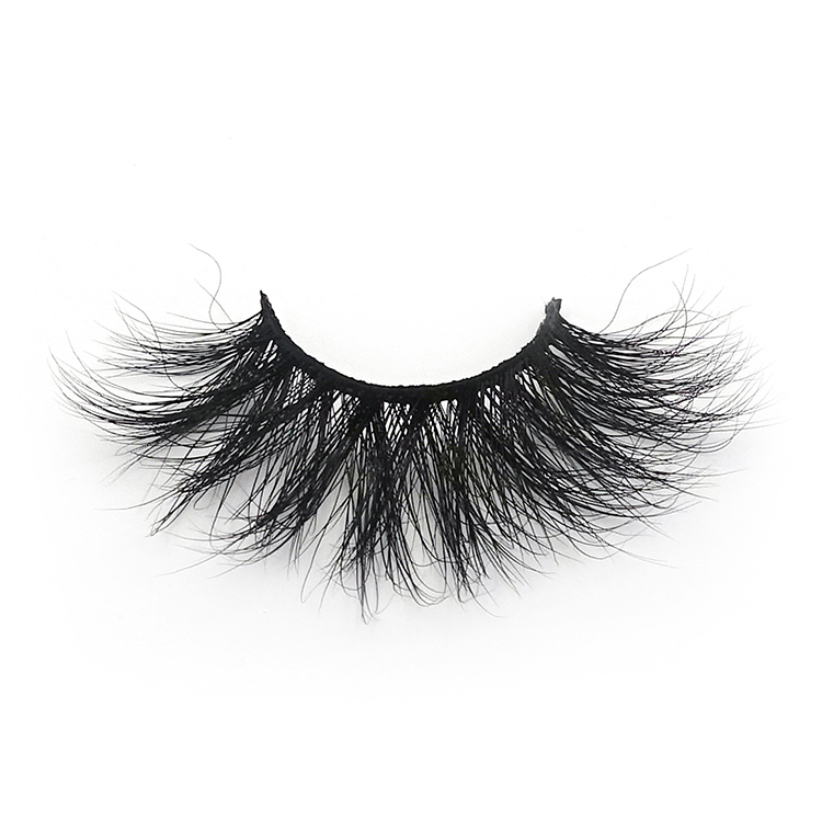 high quality 100% real human hair eyelashes