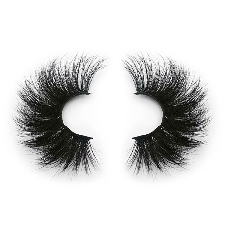 invisible band mink eyelashes private label