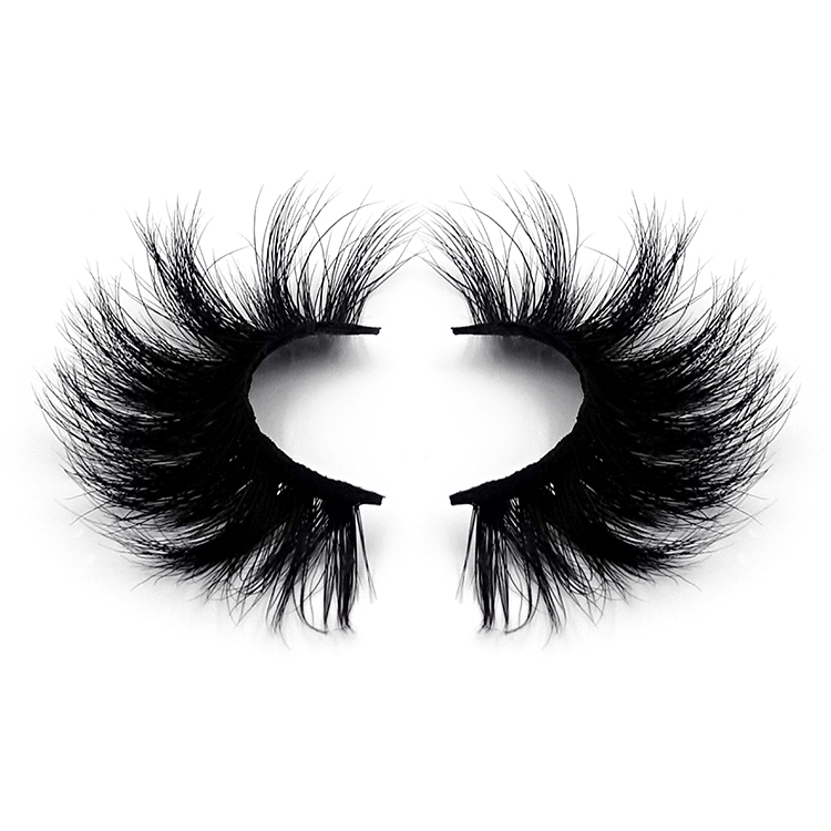 3d mink eyelashes clear band vegan