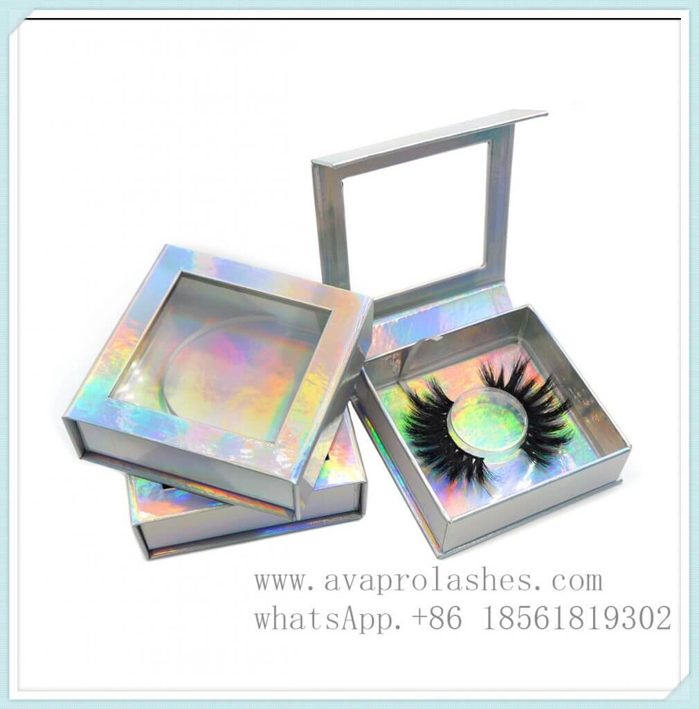 eyelash boxes custom