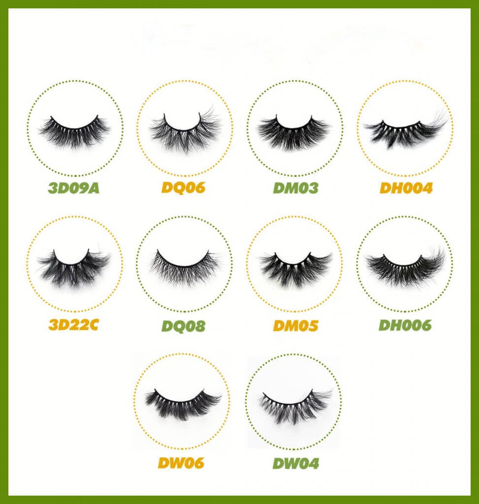 the newest styles lashes