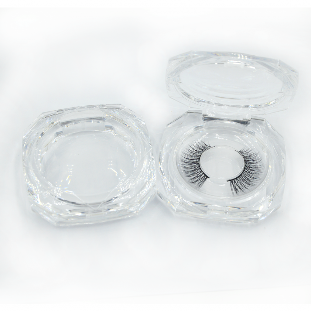Private label Clear Eyelash Packaging Boxes