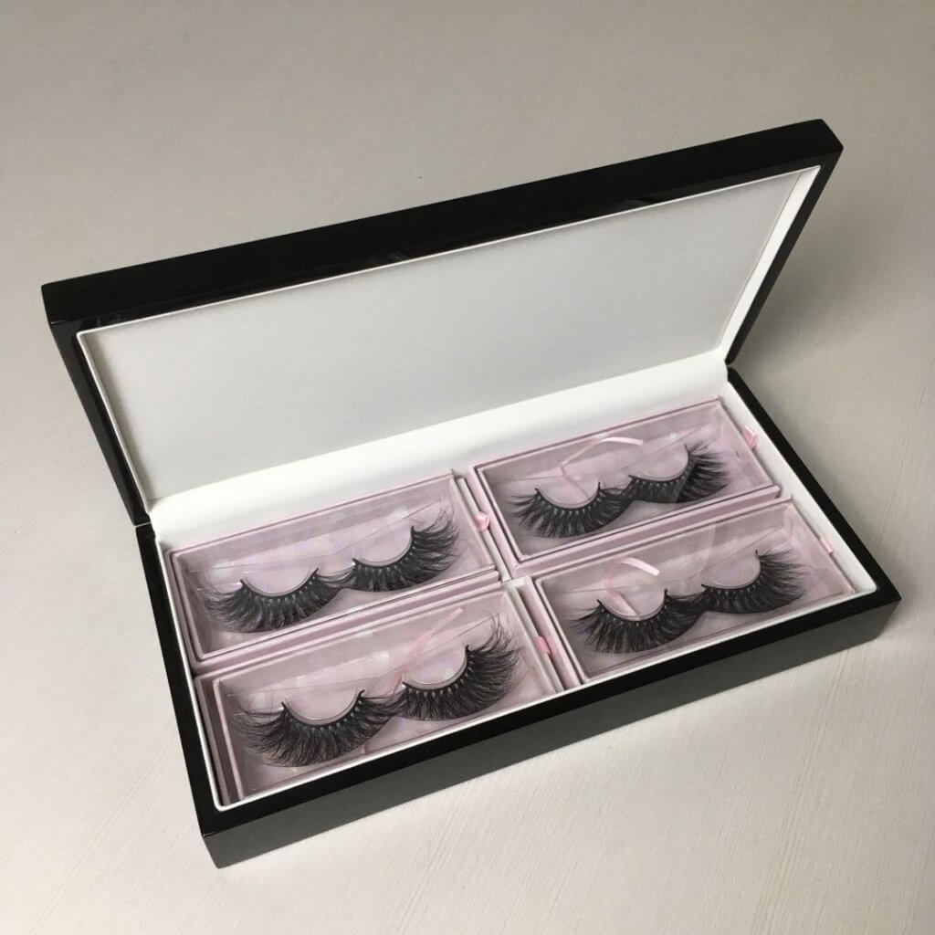 25mm mink lashes packaging