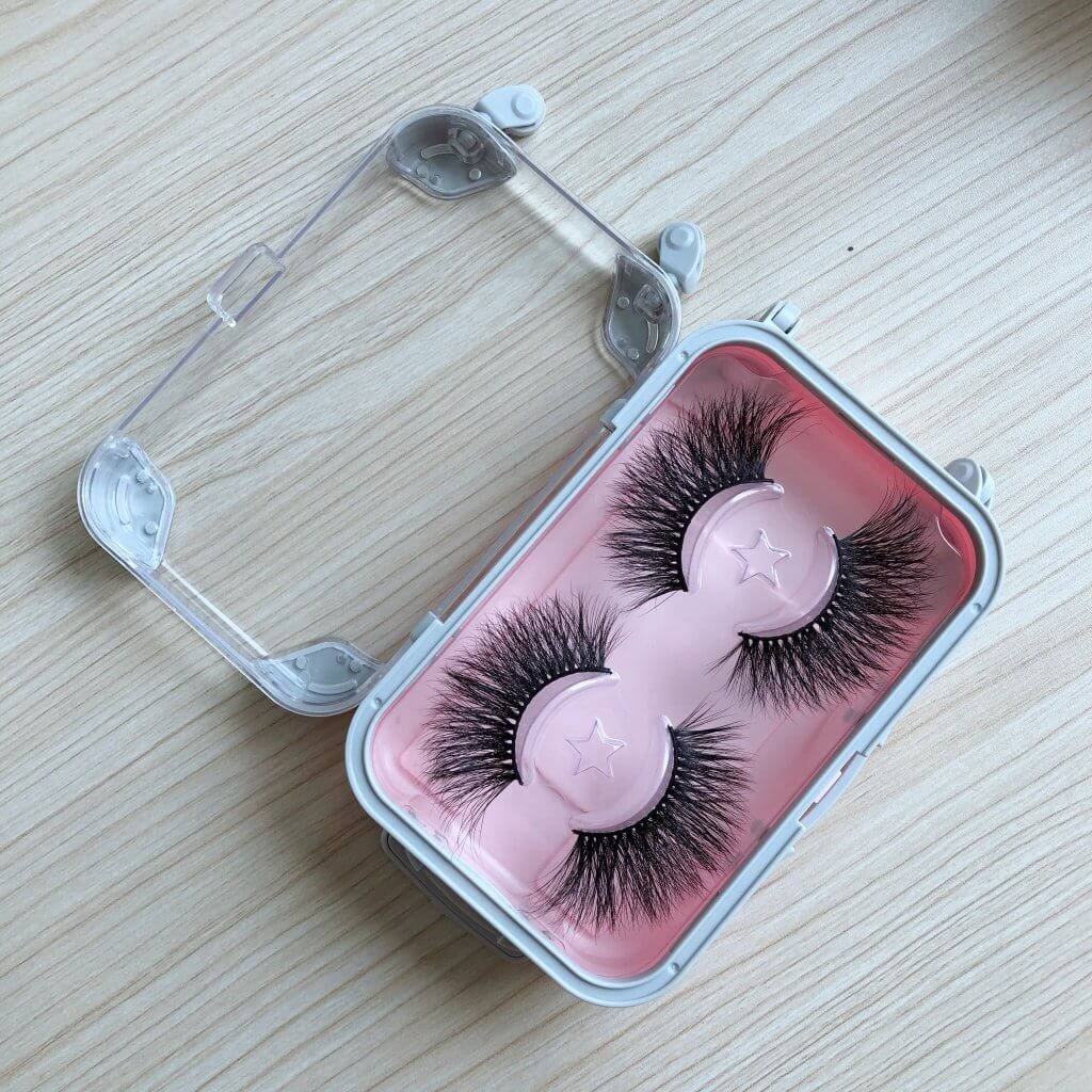25MM Mink Lashes with Suitcase Packaging, multifunctional
